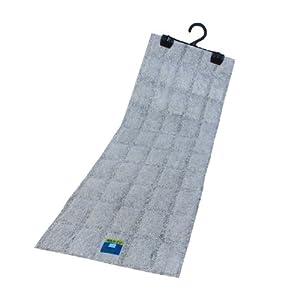 フォーラル 除湿・結露対策グッズ グレー サイズ:69×22.5×厚み2cm クローゼット用 繰り返し使える (お知らせセンサー付) 40個セット