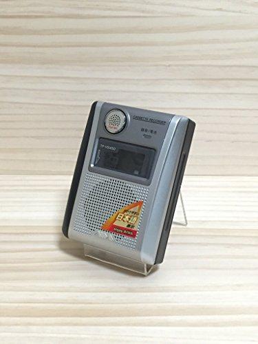 aiwa カセットテープレコーダー アイワ よく録れて、よく聞ける フラットマイク・大型50mm スピーカー 搭載 TP-VS450