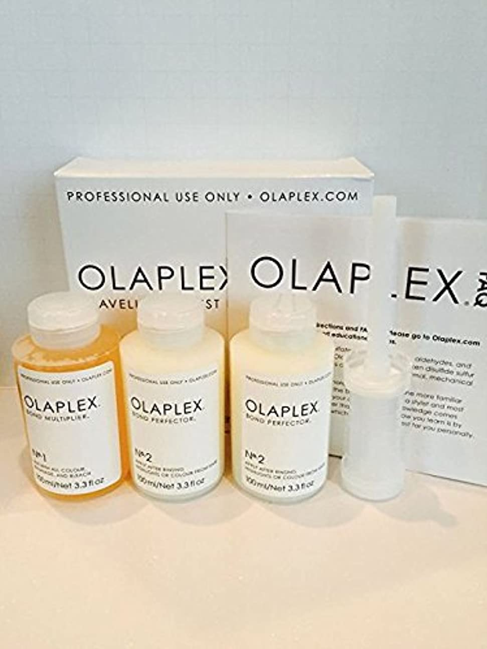 復讐履歴書敬意Olaplex Traveling Stylist Kit, Bond Multiplier 1 and Bond Perfector 2, No Box by Stylist Kit