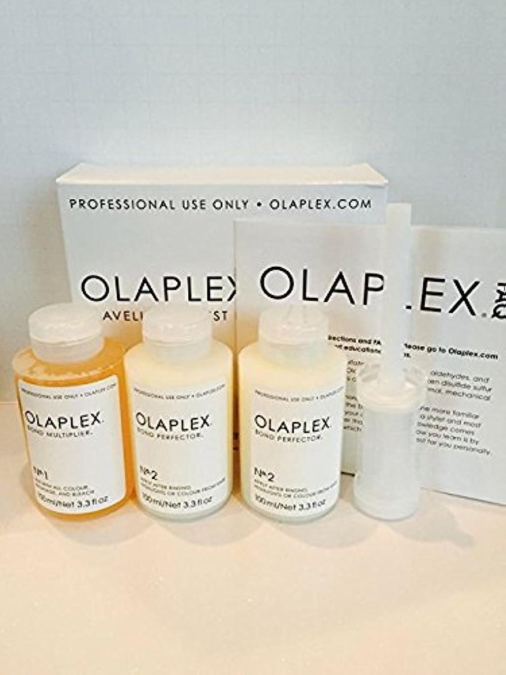プランテーション小説家剥離Olaplex Traveling Stylist Kit, Bond Multiplier 1 and Bond Perfector 2, No Box by Stylist Kit