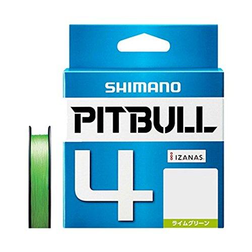 シマノ(SHIMANO) PEライン ピットブル 4本編み 200m 0.4号 ライムグリーン 8.6lb PL-M64R