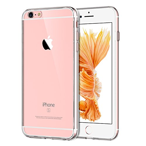 JEDirect iPhone 6 6s ケース バンパー 衝撃吸収 傷つけ防止 (クリア)