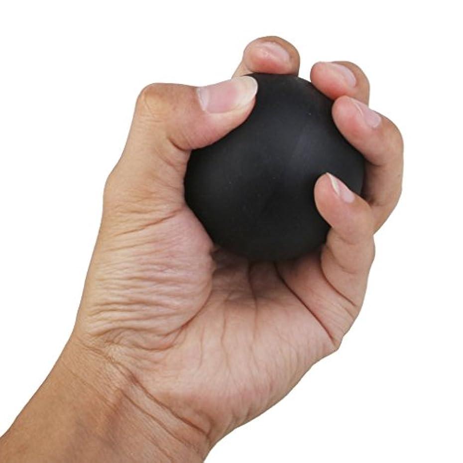 爆発存在する柔らかい足2個セット 手のひら 足 腕 首 背中 足首 ジム ホーム 運動 マッサージボール ラクロスマッサージボール ブラック