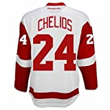 reebok ジャージ クリス・Chelios DetroitレッドWings Road Jersey by Reebok