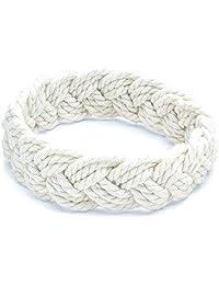 Medium White Sailor Knot Bracelet