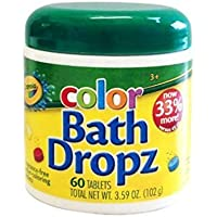 Crayola Bath Dropz 3.59 oz 60 Tablets B00009KWTB by Crayola [並行輸入品]