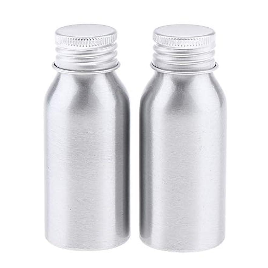 爆弾確率スポークスマン2本 アルミボトル 化粧品 液体 収納容器 ローションボトル 5サイズ選べ - 50ml