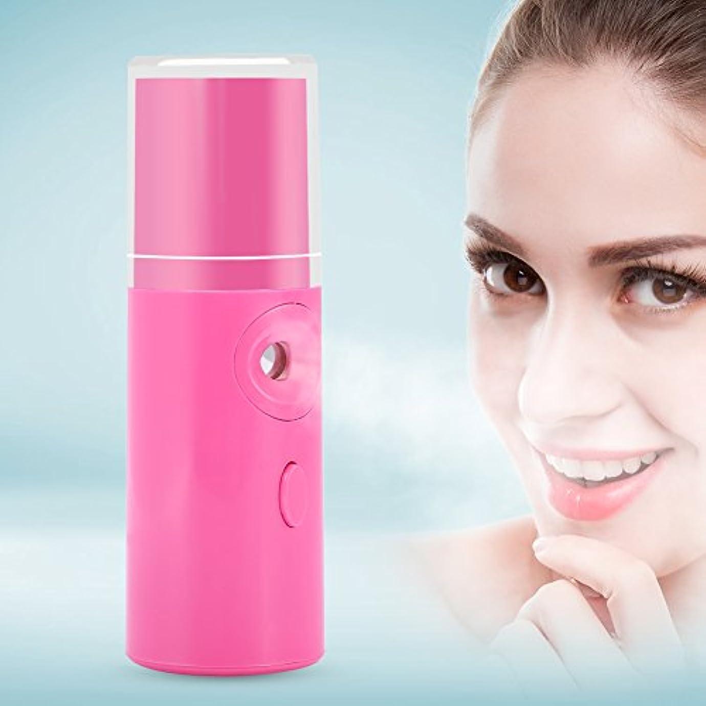 ハンディミスト 補水美顔器 ナノイオンミスト ナノ噴霧式補水 ナノ技術 ドライ肌/オイリー肌に対応 乾燥に対策 補水 美肌 保湿 美肌エステ 携帯式 コンパクト