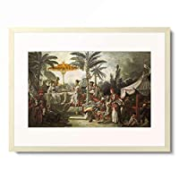 フランソワ・ブーシェ Francois Boucher 「Chinoiserie: Festin de l'empereur」 額装アート作品