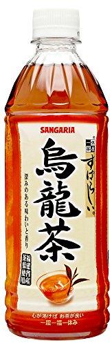 サンガリア すばらしい烏龍茶 ペット 500ml×24本