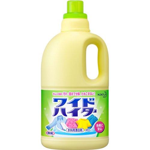 【ケース販売】ワイドハイター 衣料用漂白剤 液体 大サイズ 2000ml×6個