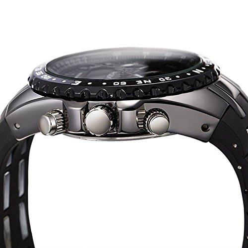 [ビンズ] BINZI 軍事腕時計 アナデジ表示 BZ-1605b メンズ