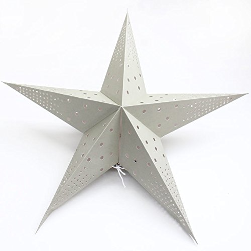 サニーデイズバイメイグローブ(SUNNY DAYS by MAYGLOBE) 星型ペーパーライト 大 /sd14002-2 (カラー グレー) 株式会社スプリング