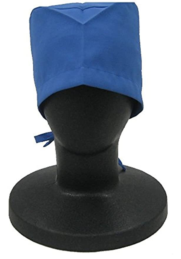 最高批判的にインディカカゼン KAZEN  手術帽子(後ヒモ式) 197-98(ネイビー)フリー