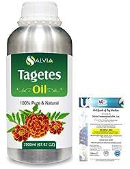 Tagetes (Tagetes Minuta) 100% Pure Natural Essential Oil 2000ml/67 fl.oz.