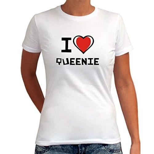 I love Queenie 女性のTシャツ