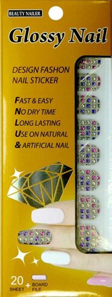 トロリー床を掃除する逃れるビューティーネイラー ネイル用シール・ステッカー Glossy Nail GNS-4