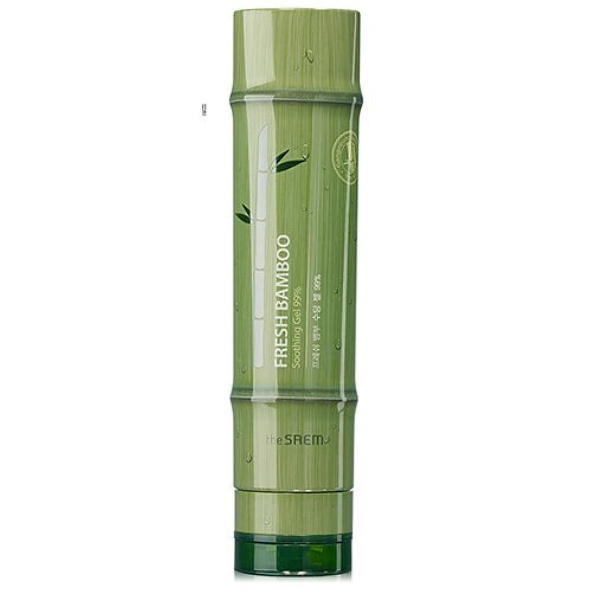 金曜日ペデスタルスティックドセム フレッシュバンブースージング ジェル 99% 260ml[無料発送]The Saem Fresh Bamboo Soothing Gel 99% 260ml [並行輸入品]
