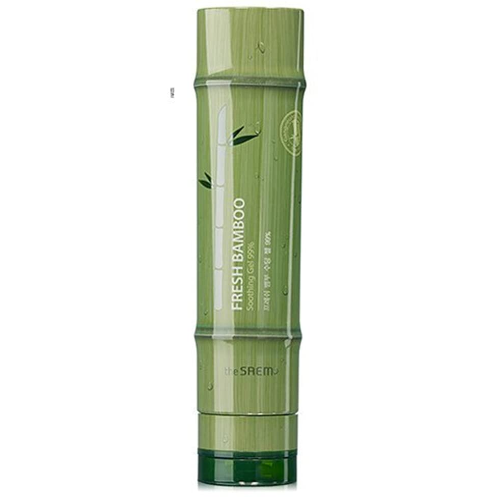 鹿再開騒々しいドセム フレッシュバンブースージング ジェル 99% 260ml[無料発送]The Saem Fresh Bamboo Soothing Gel 99% 260ml [並行輸入品]