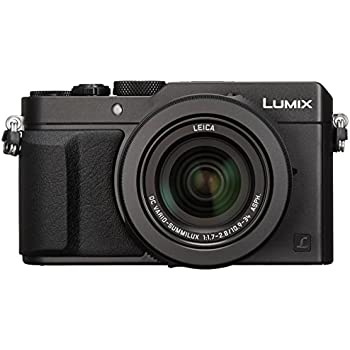 パナソニック コンパクトデジタルカメラ ルミックス LX100 4/3型センサー搭載 4K動画対応 ブラック DMC-LX100-K