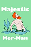 Majestic Mer Man: Prayer Journal Jesus