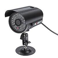 防犯カメラ 監視カメラ 屋外 屋内 LED48個 CCD 赤外線搭載 暗視可能 レンズ6mm搭載 防水