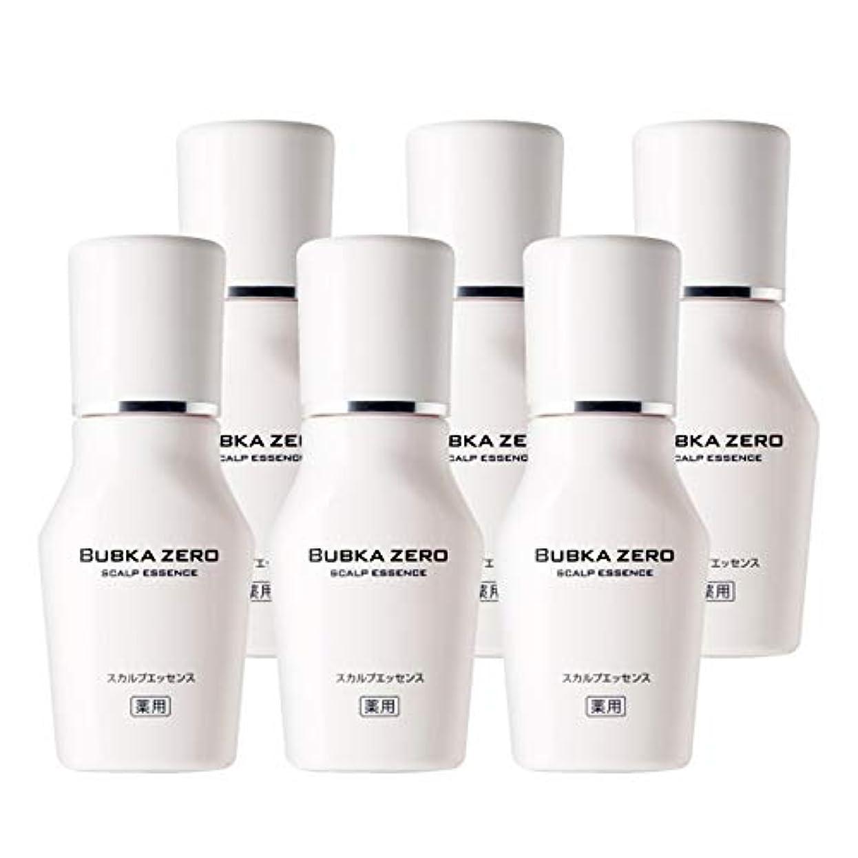 【医薬部外品】BUBKA(ブブカ)薬用 スカルプエッセンス 育毛剤 BUBKA ZERO (ブブカ ゼロ)6本セット