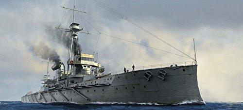 トランペッター 1/700 イギリス海軍戦艦 HMS ドレッドノート 1907