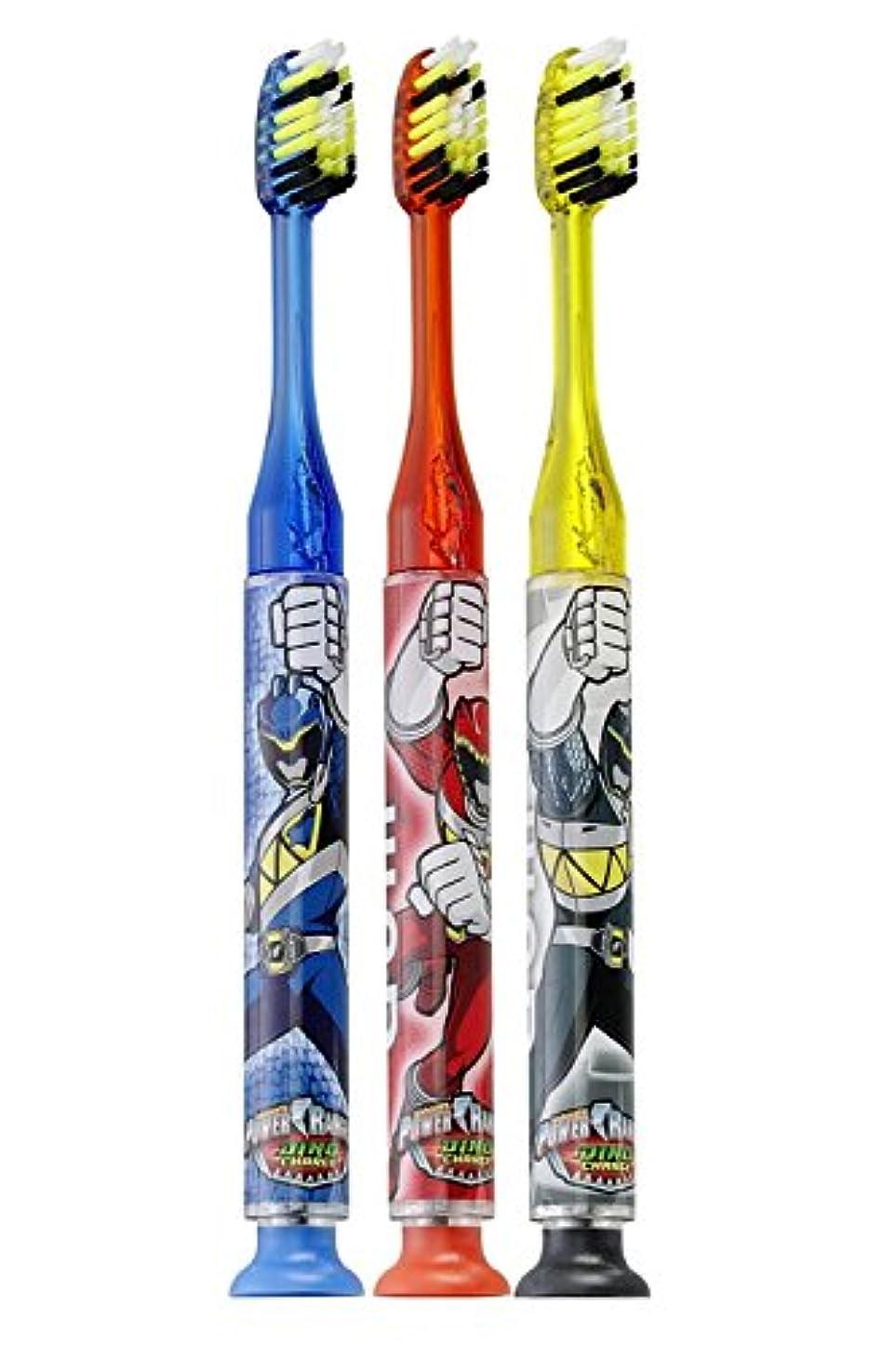 タイマーシャープ九時四十五分Gum Power Rangers Timer Light Toothbrush - Soft by GUM