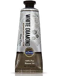 Difeel(ディフィール) ホワイトダイアモンド ナチュラル ハンドクリーム 40g WHITE DIAMOND 17WDM New York 【正規輸入品】