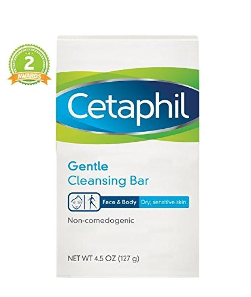 階層肩をすくめる維持Cetaphil ジェントルクレンジングバー4.5(2パック) 2パック