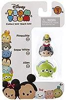Disney Tsum Tsum Series 3 Pinocchio, Snow White & Alien Minifigure 3-Pack #304, 202 & 242 [並行輸入品]