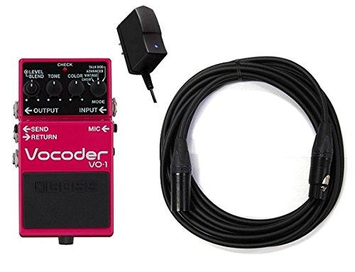 【純正ACアダプター+CANAREマイクケーブル付】BOSS ボス VO-1 Vocoder ボコーダー ギターとベースに新たな表現力を