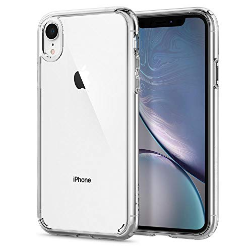 【Spigen】 スマホケース iPhone XR ケース 対応 クリア 衝撃吸収 米軍MIL規格取得 ウルトラ・ハイブリッド 064CS24873 (クリスタル・クリア)