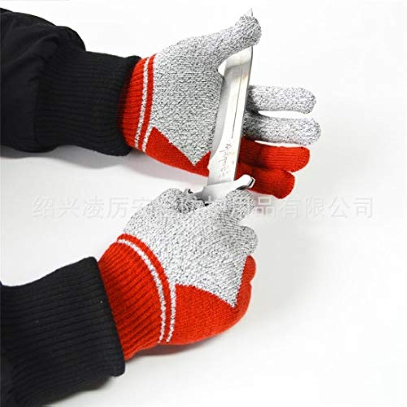 事実上聖職者聖職者JOYS CLOTHING 新アウトドアスポーツキッチン手袋食品グレードの手袋、HPPEカット防止アクリル汗吸収防水スリップ防止手袋
