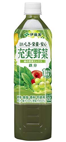 充実野菜 緑の野菜ミックス 930g ×12本