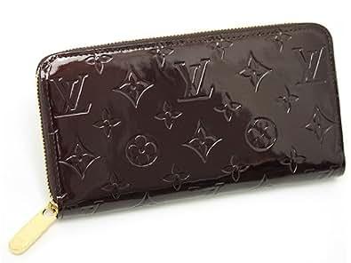 ルイヴィトン 財布 LOUIS VUITTON M93522 モノグラムヴェルニ アマラント ジッピーウォレット 長財布