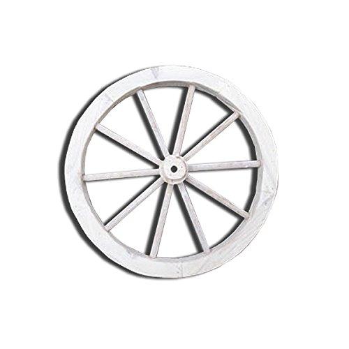 RoomClip商品情報 - 本物のレトロな車輪みたい♪年月を重ねたような雰囲気の車輪☆IDYLLIC GARDEN ガーデンウィール S ホワイト 40875-4087640876