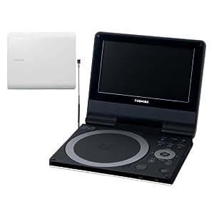 TOSHIBA ポータロウ 7V型ワイド液晶 ポータブルDVDプレーヤー ワンセグ録画対応モデル SD-P73DTW シェルホワイト