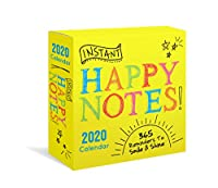 Instant Happy Notes 2020 Calendar: 365 Reminders to Smile and Shine!