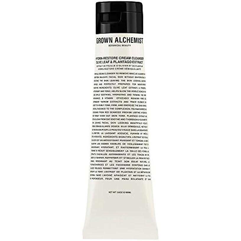 成分にはまってシアーオリーブの葉&Plantogoエキス、100ミリリットル:成長した錬金術師クリームクレンザーをヒドラ復元 (Grown Alchemist) (x2) - Grown Alchemist Hydra-Restore Cream...