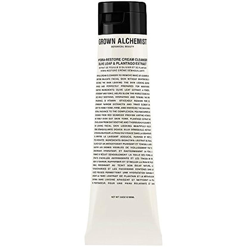 消す窒息させるいらいらするオリーブの葉&Plantogoエキス、100ミリリットル:成長した錬金術師クリームクレンザーをヒドラ復元 (Grown Alchemist) - Grown Alchemist Hydra-Restore Cream Cleanser...