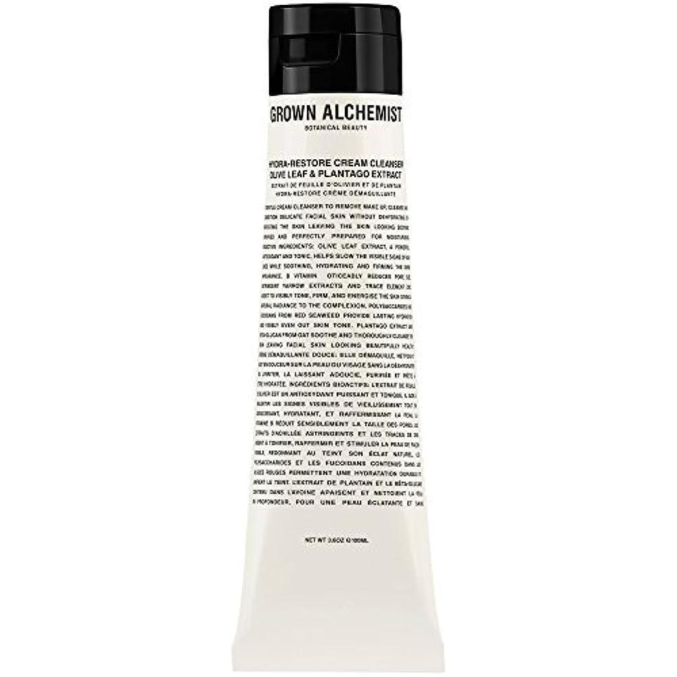砂の納税者アミューズオリーブの葉&Plantogoエキス、100ミリリットル:成長した錬金術師クリームクレンザーをヒドラ復元 (Grown Alchemist) (x6) - Grown Alchemist Hydra-Restore Cream...