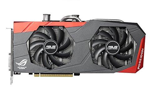 ASUSTeK NVIDIA GeForce GTX 980搭載 液冷対応 ROGビデオカード POSEIDON-GTX980-P-4GD5