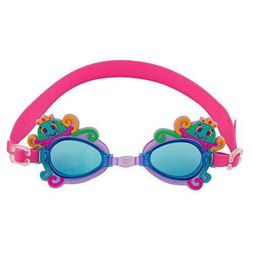 ステファンジョセフ 女の子用ピンクx紫クラゲさんのスイムゴーグル [並行輸入品]