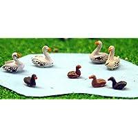 Langleyモデル水鳥、Swans + Ducks Nスケール未塗装メタルモデルキットa61