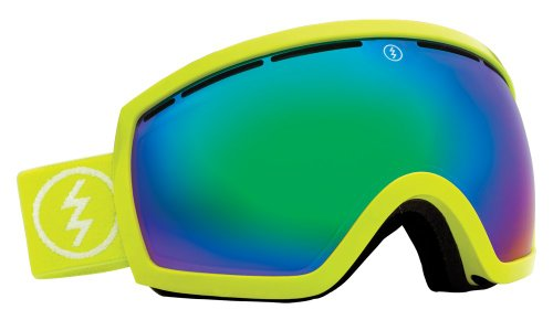 Electric EG2.5 Snow Goggle, Toxic Snot, Bronze/Green Chrome by Electric California