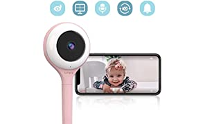 Lollipop - Smart Baby Monitor with True Crying Detection AU/US_Plug… (Pink)