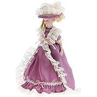 SONONIA 1/12スケール ドールハウス 人形 ミニチュア レディース人形 置物