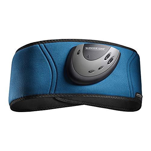 ショップジャパン 【公式】スレンダートーン フィットプラス ブルー EMS 腹筋ベルト インナーマッスル トレーニング FITPAM01